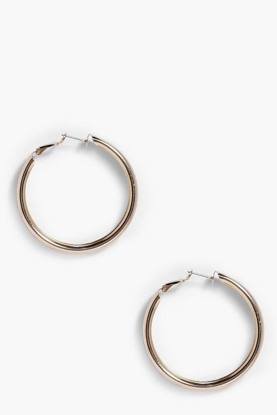 Elise Thick Hoop Earrings