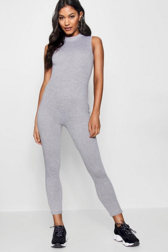 Basic High Neck Unitard