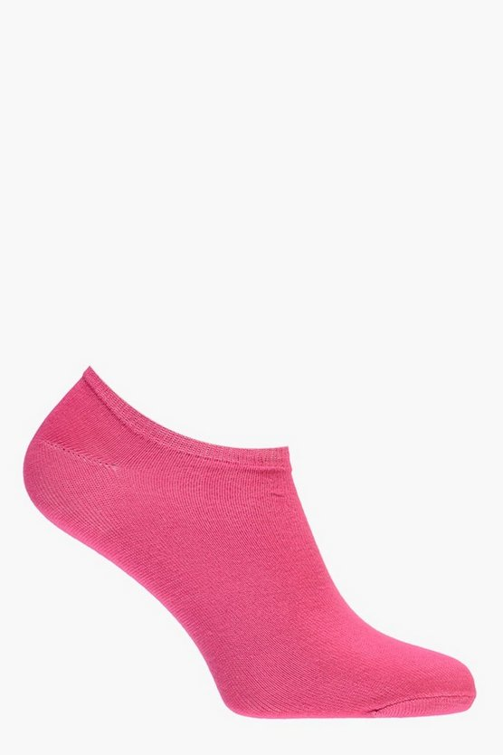 Womens Pink Imogen Fit Ankle Socks