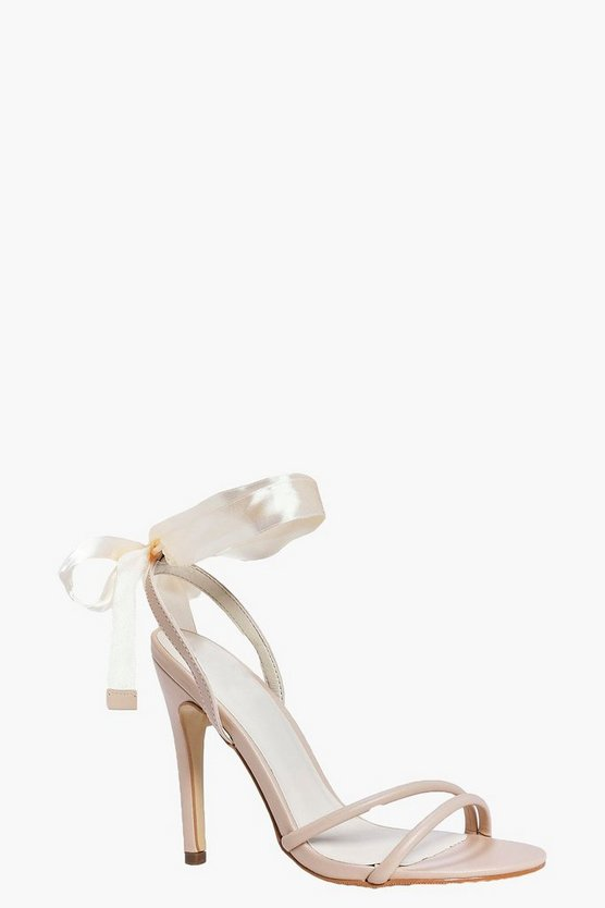 Freya Ribbon Tie Two Part Sandal