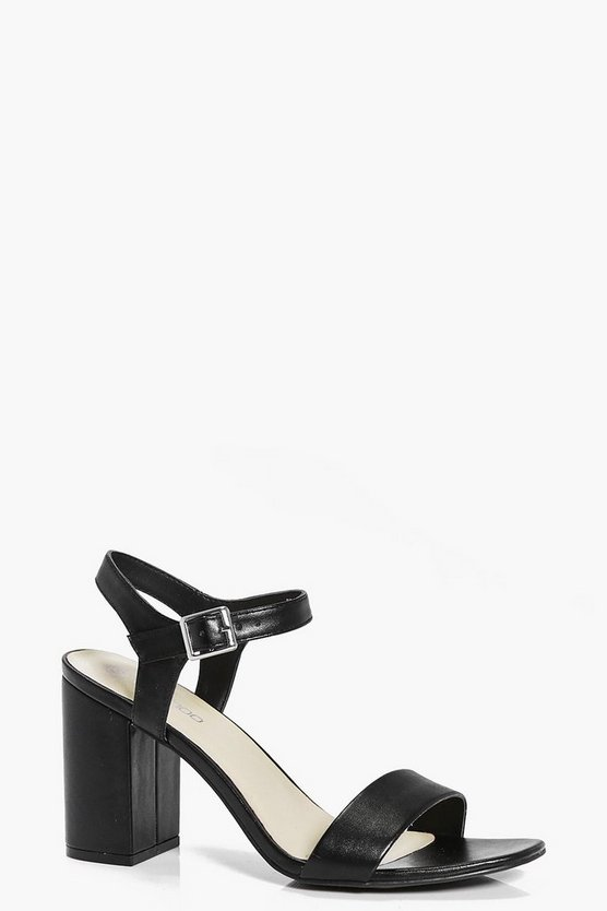 Bethany Two Part Block Heels