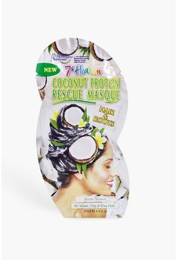 Womens White Coconut Protein Hair Rescue Mask