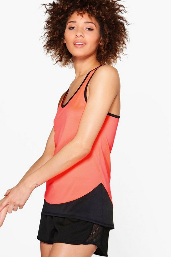 Olivia Fit Racer Back Running Vest