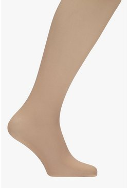 Collants opaques nus 40 deniers, Couleur chair, Femme