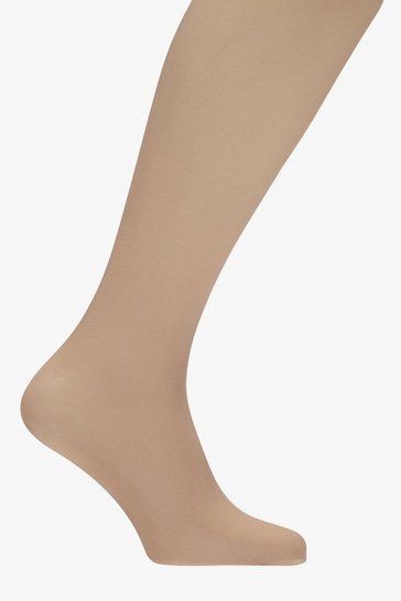 Womens 40 Denier Nude Opaque Tights