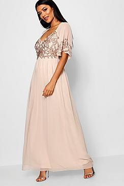 Edwardian Evening Gowns | Victorian Evening Dresses Boutique Michi Embellished Maxi Dress $90.00 AT vintagedancer.com