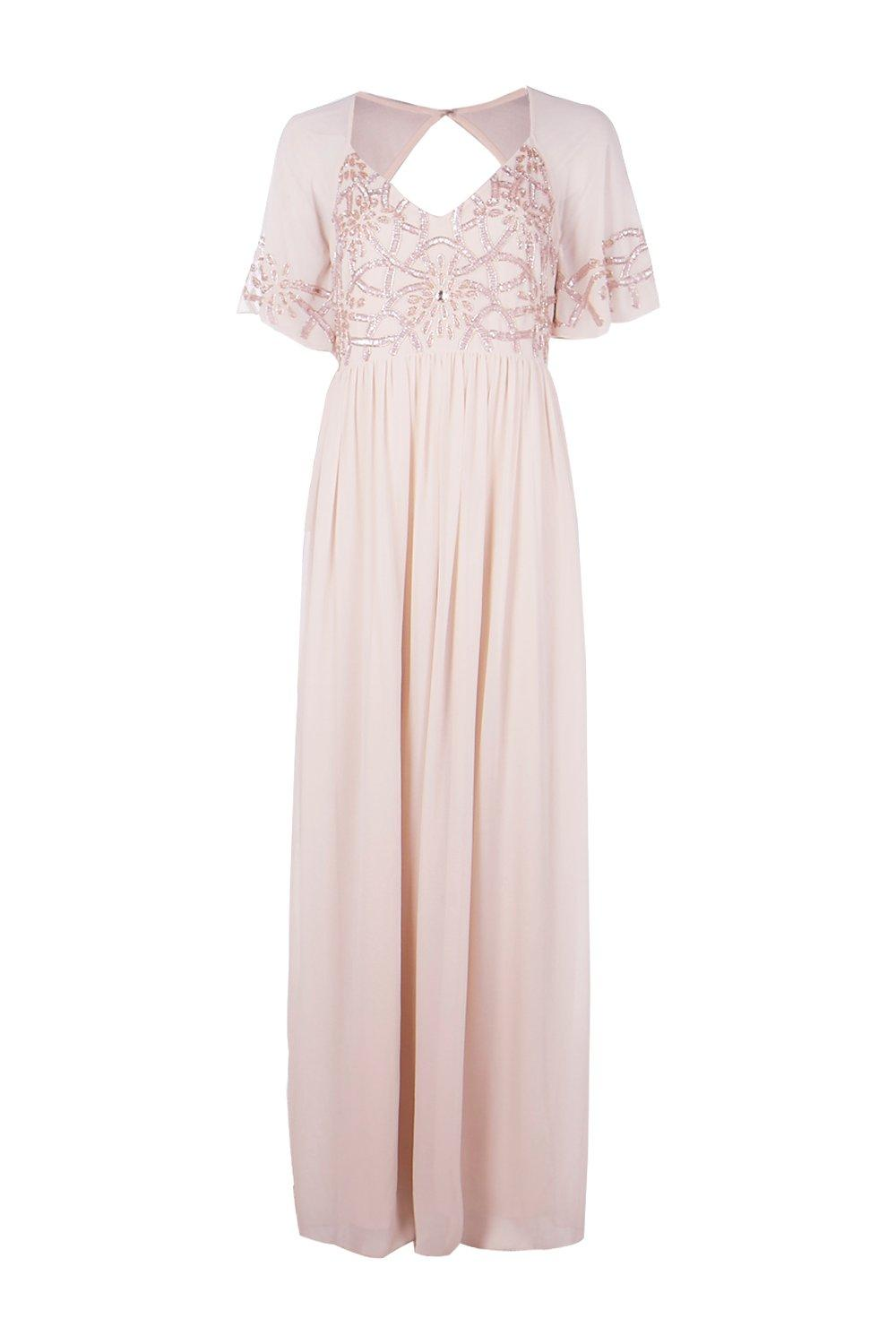 Boohoo Womens Boutique Michi Embellished Maxi Dress by Ebay Seller