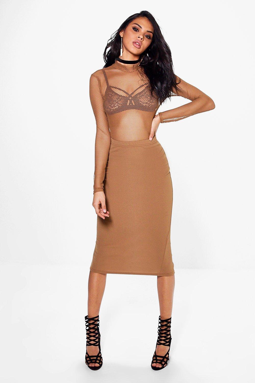 f94d0ca6dfe Nadia Fishnet Body And Midi Skirt Co-ord