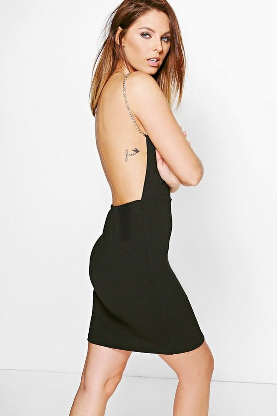 Bekki Chain Detail Bodycon Dress