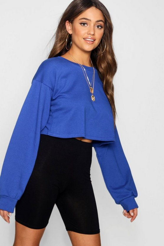 Crop Oversized Sweat