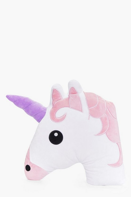 Purple Horn Unicorn Cushion