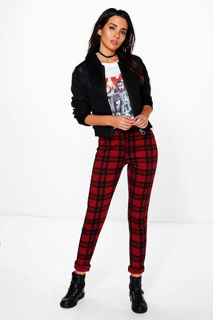 Nouveau bébé fille noir rouge dentelle Tartan Carreaux Jupe de Patineuse Alternative Clothing