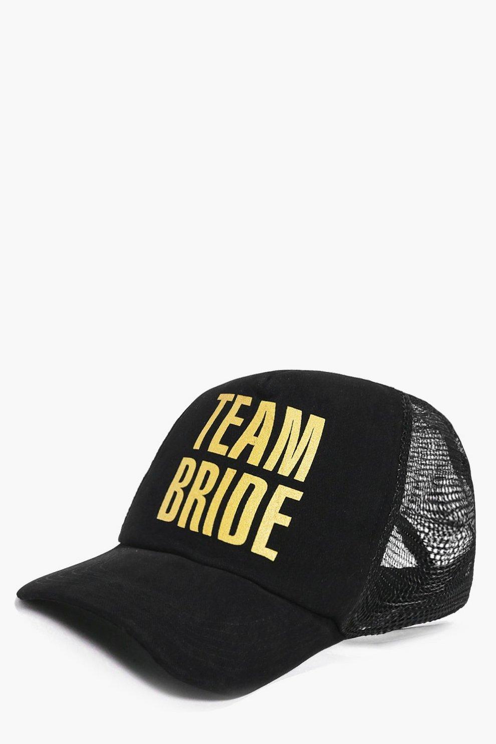 03d502bc942 Nina Team Bride Slogan Baseball Cap