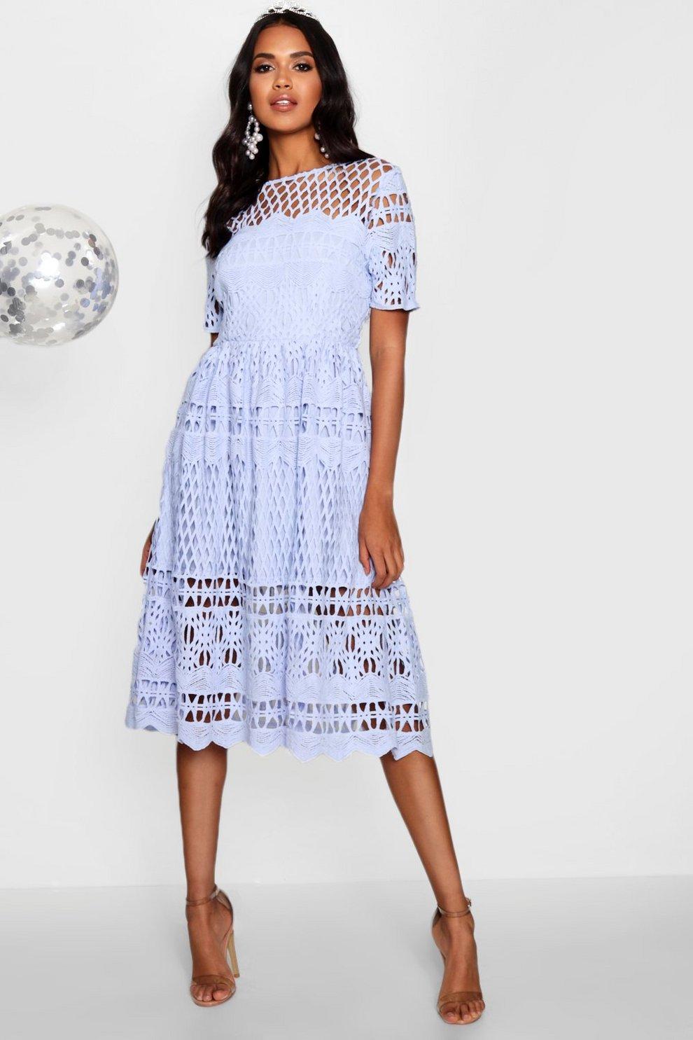 662edff11f Boutique Li Panelled Full Skirt Skater Dress -  quality design fa7c5 ef5d5  Boutique Corded Lace Panelled Skater Dress ...