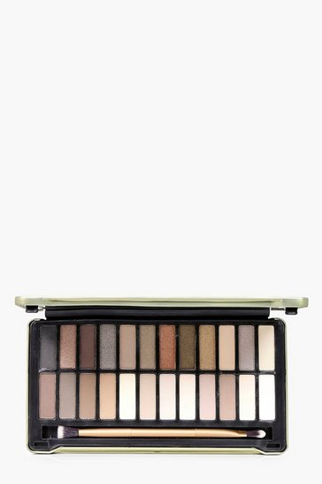 Womens Technic Gold Eyeshadow Palette