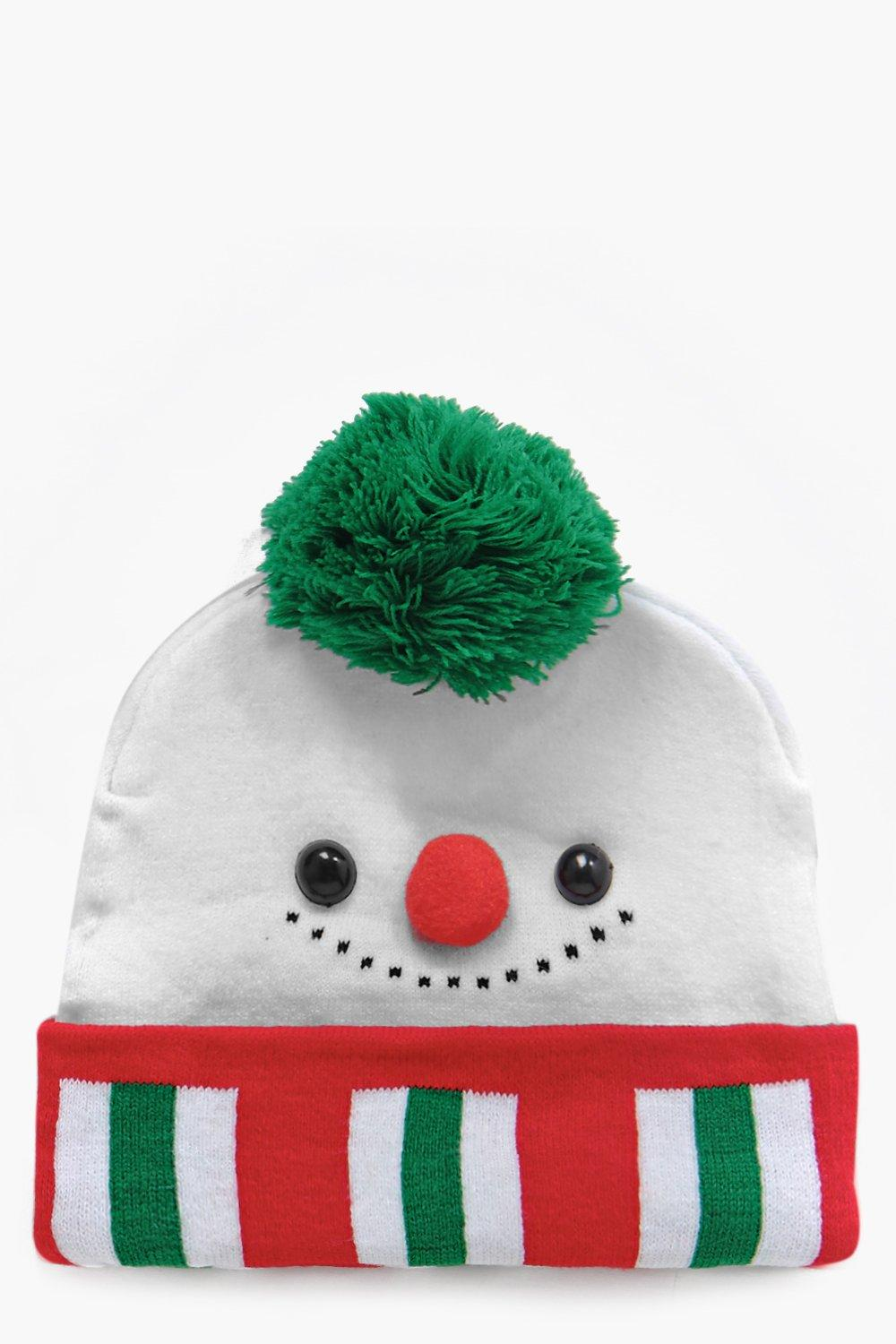 4495537670791 Womens Multi Darcey Christmas Snowman Beanie Hat. Hover to zoom