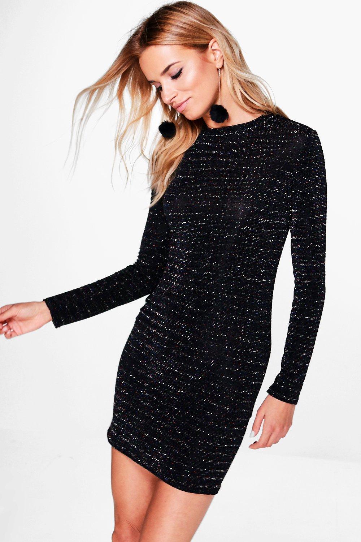 Long Sleeve Short Bodycon Dresses