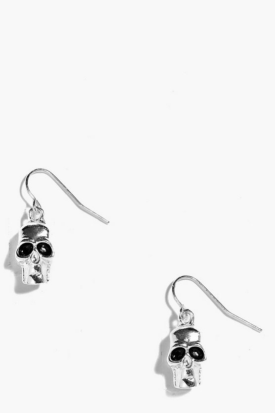 Abbie Halloween Skull Earrings
