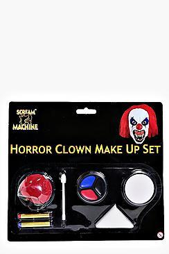 Halloween Horror Clown Make Up Set