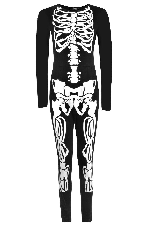 Halloween Skeleton Rena Print black Jumpsuit fwPPxdq