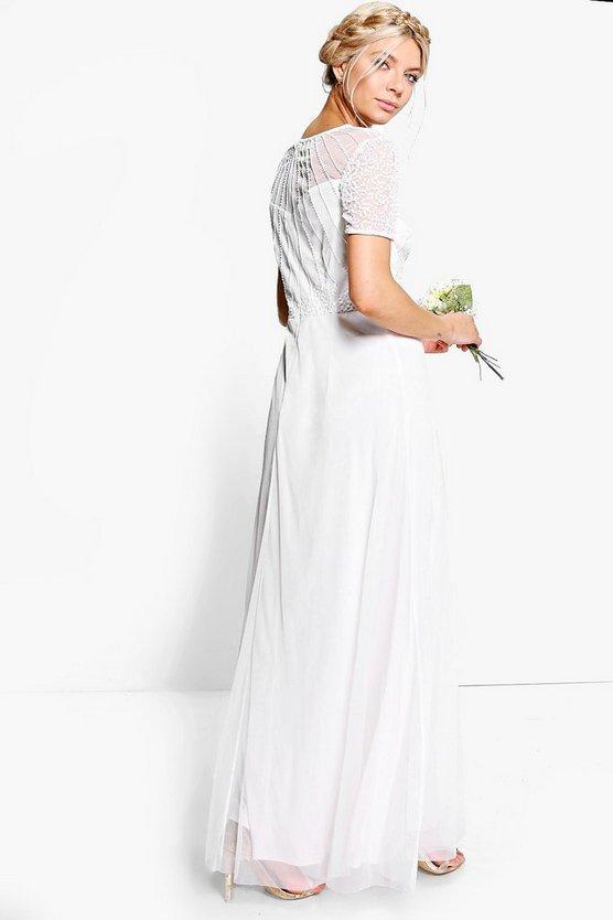 Boutique Beaded Maxi Dress