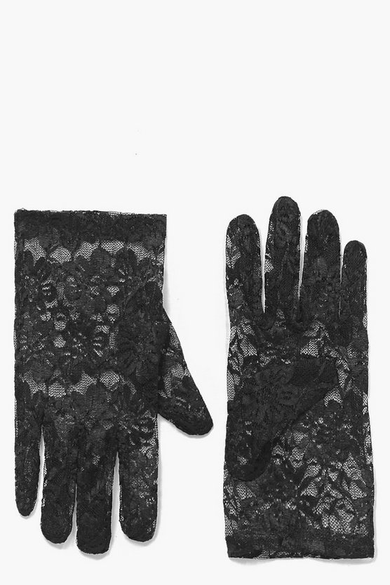 Halloween Laura Lace Gloves