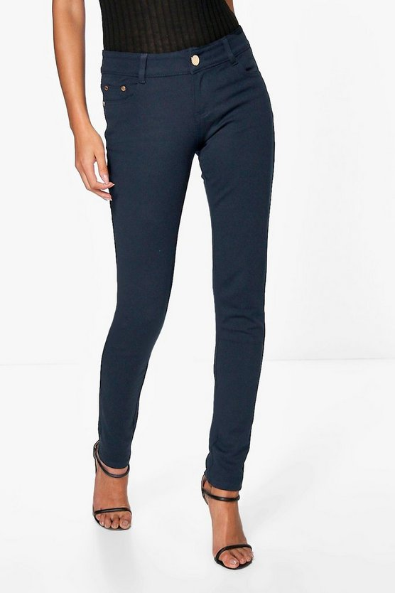 Pantalon skinny super stretch taille haute