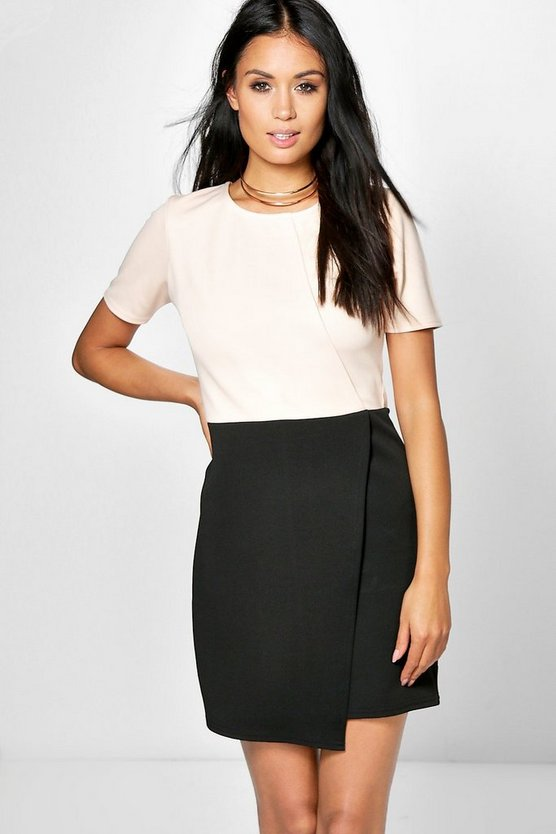 Heidi Tailored Colour Block Dress