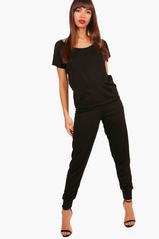 Leah Oversized Knit T-Shirt And Jogger Lounge Set