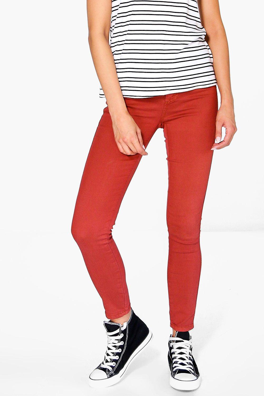 3f272ceabe65c Lara High Rise Skinny Tube Jeans. Hover to zoom