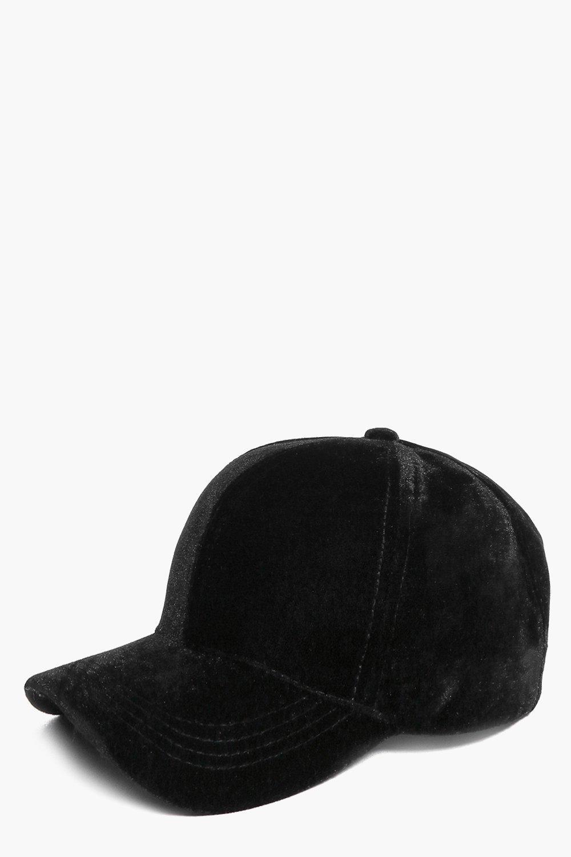 3f51e203767 Tegan Velvet Baseball Cap