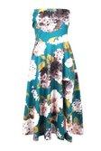 ... Rita Floral Dip Hem Midi Skater Dress alternative image ... 01b8f77ce