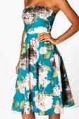 ... Rita Floral Dip Hem Midi Skater Dress alternative image e268b3c96