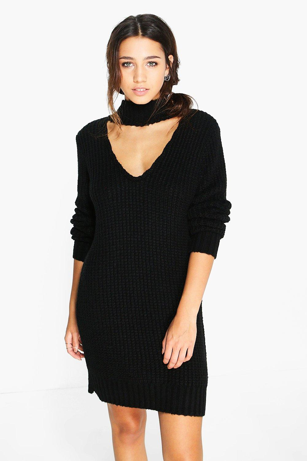 Fashion week Jumper Black dress pictures for lady