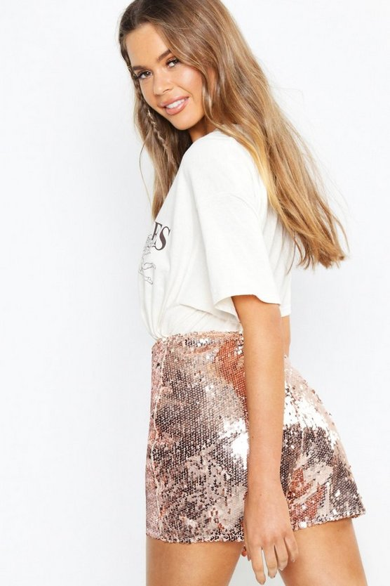 Boutique  All Over Sequin Shorts
