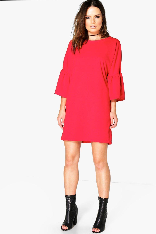 Michelle Bell Sleeve Dress | boohoo Australia