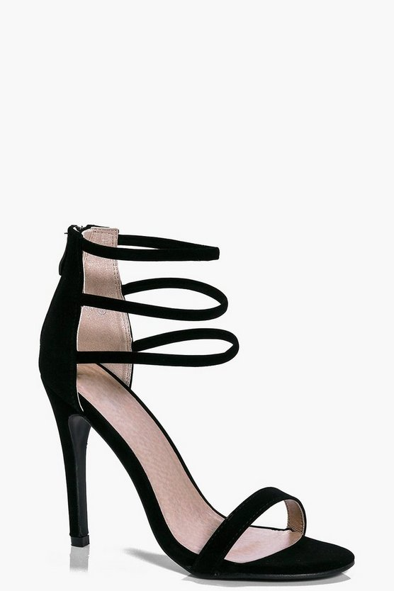 Ruby Three Ankle Band Heels