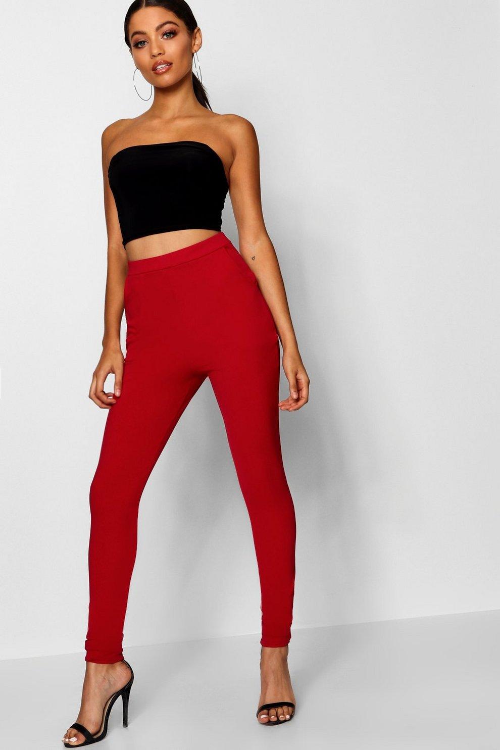 8ff7e6e3e1bb0 Basic Scuba Super Stretch Skinny Trousers | Boohoo