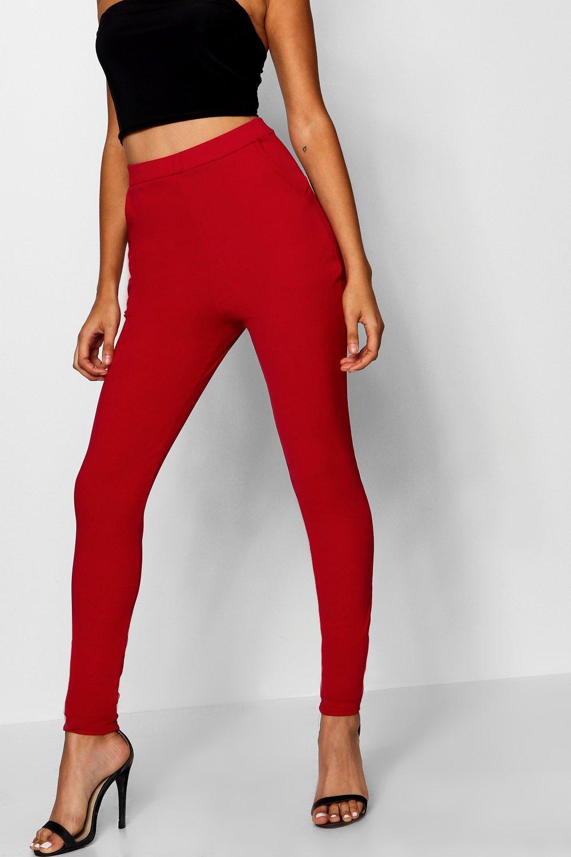 super skinny de neopreno Pantalones Coral elásticos 5fqwv0P
