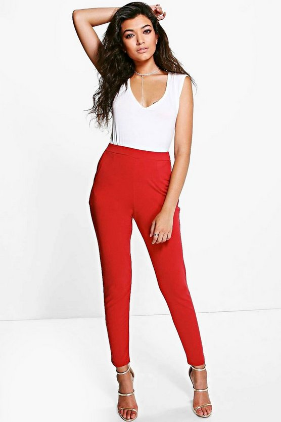 Basic Scuba Super Stretch Skinny Trousers