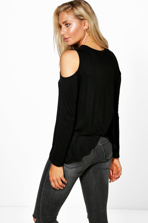 67a04f7e7 camiseta cruzada por detrás con hombros descubiertos nina | Boohoo