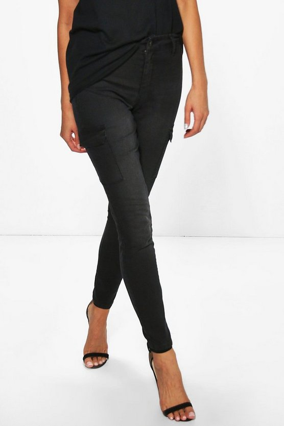 Lola Pocket Detail Skinny Jeans
