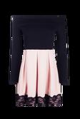 b867f591b0 ... Keira Contrast Off Shoulder Skater Dress alternative image ...