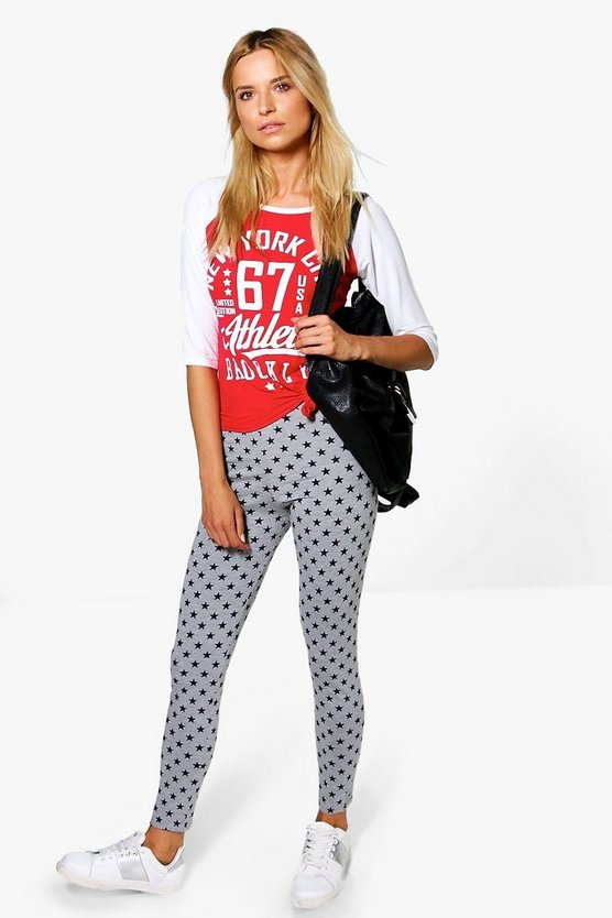 Priya Star Print Leggings