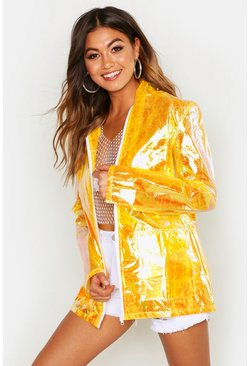 Womens Mustard Holographic Mac