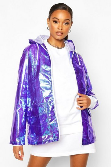 Purple Holographic Mac