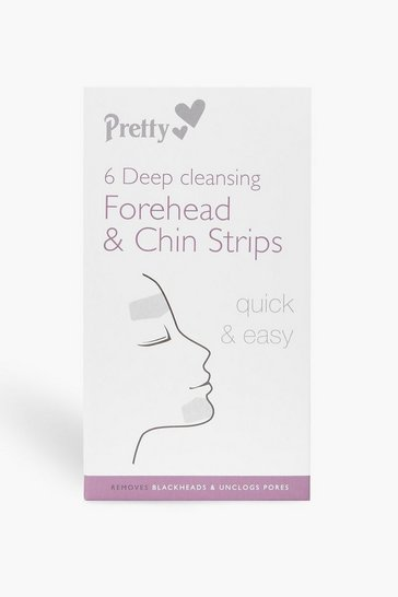Clear 6 Forehead And Chin Nose Pore Strips