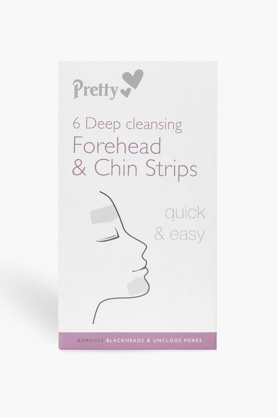 6 Forehead And Chin Nose Pore Strips