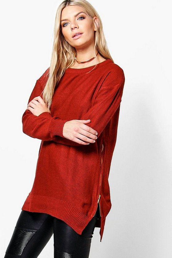 Eva Zip Side Jumper