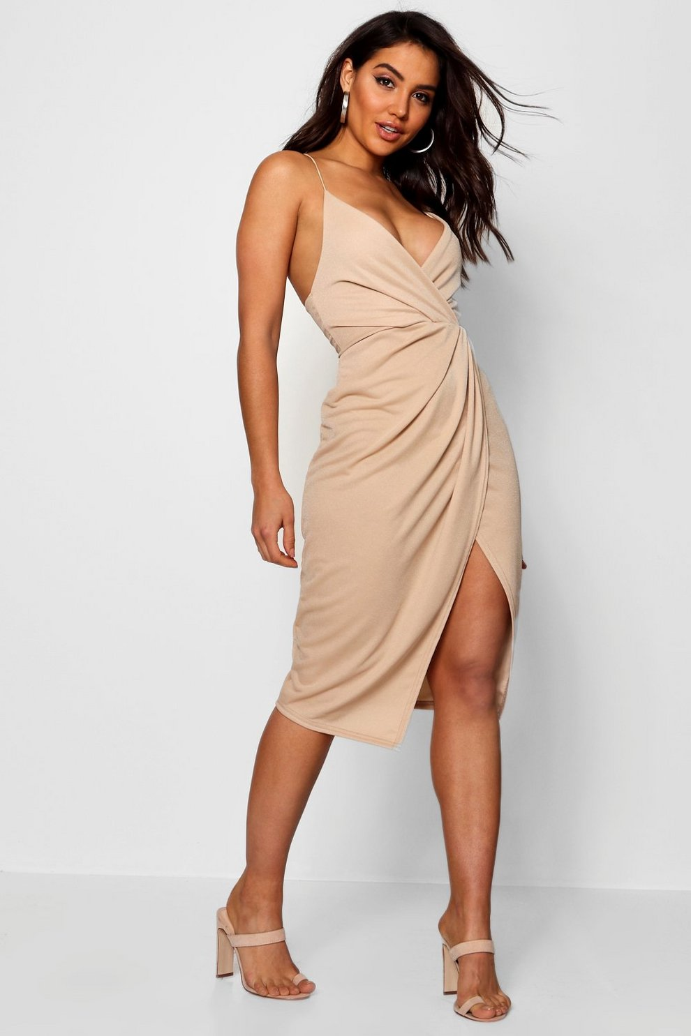 Wrap Cocktail Dress